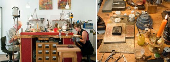 Goldschmiede-Atelier Goldstube in Lübeck