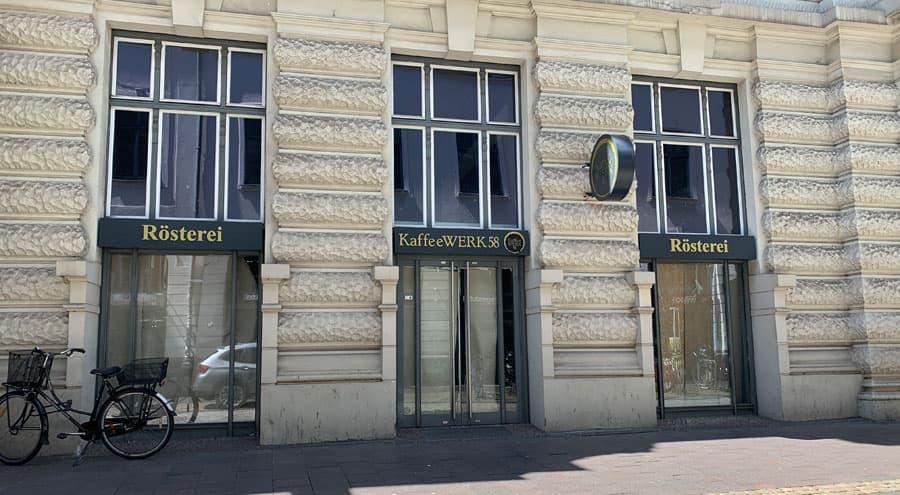 Kaffeewerk 58 Neueröffnung in Lübeck Königstr. 58