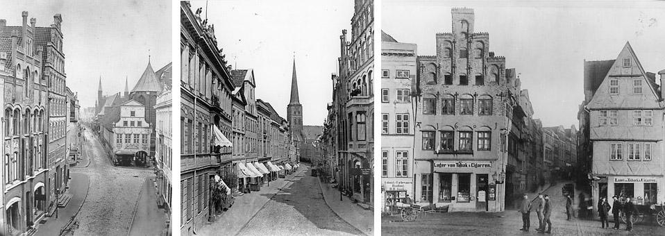 Historische Ansichten von Lübeck