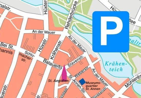 Parken in Lübeck