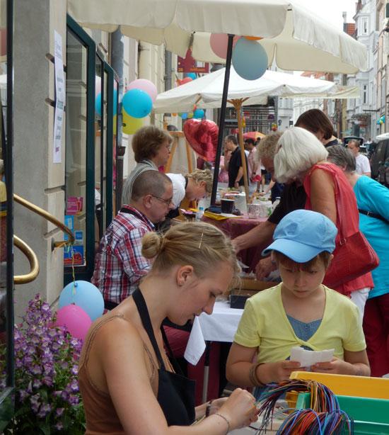 Sommerfest 2014 der Glockengießerstr. in Lübeck.