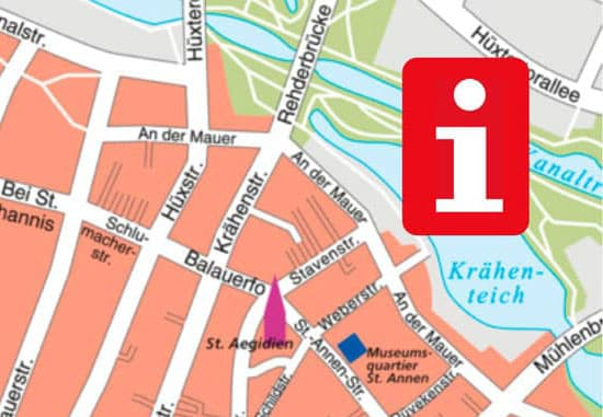 Lübeck Stadtplan Download PDF