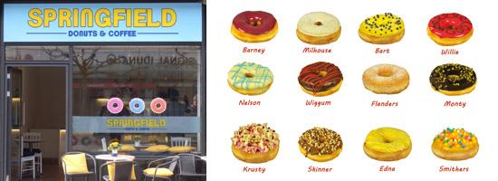 Neueröffnung in Lübeck. SPRINGFIELD - Donuts & Coffee