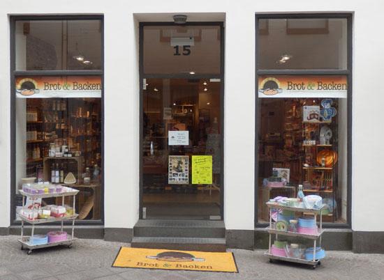 Lübeck Neueröffnung 2014 Brot & Backen in der Hüxstraße
