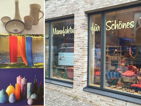 Lübeck Neueröffnung 2014. Schüsselbuden gegenüber der Marienkirche