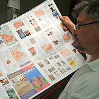 Shopping Guide 2014 für Lübeck im Druck