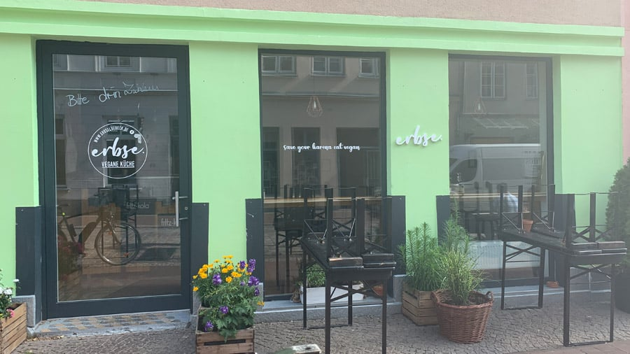 Veganes Restaurant Erbse in Luebeck